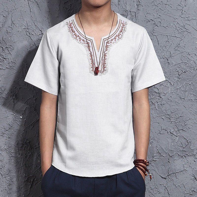 Changing Destiny White Half Sleeve T-Shirt