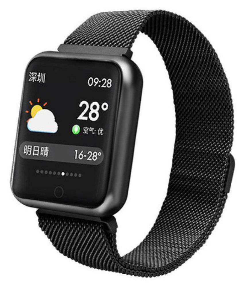 OPTA SB-053-055 Cobalt Band HD Color Display Bluetooth Unisex Fitness Smartwatch for Android and iOS Smartphones
