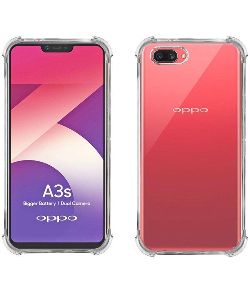 buy online 128b4 45c77 Oppo A3s Shock Proof Case SpectraDeal - Transparent