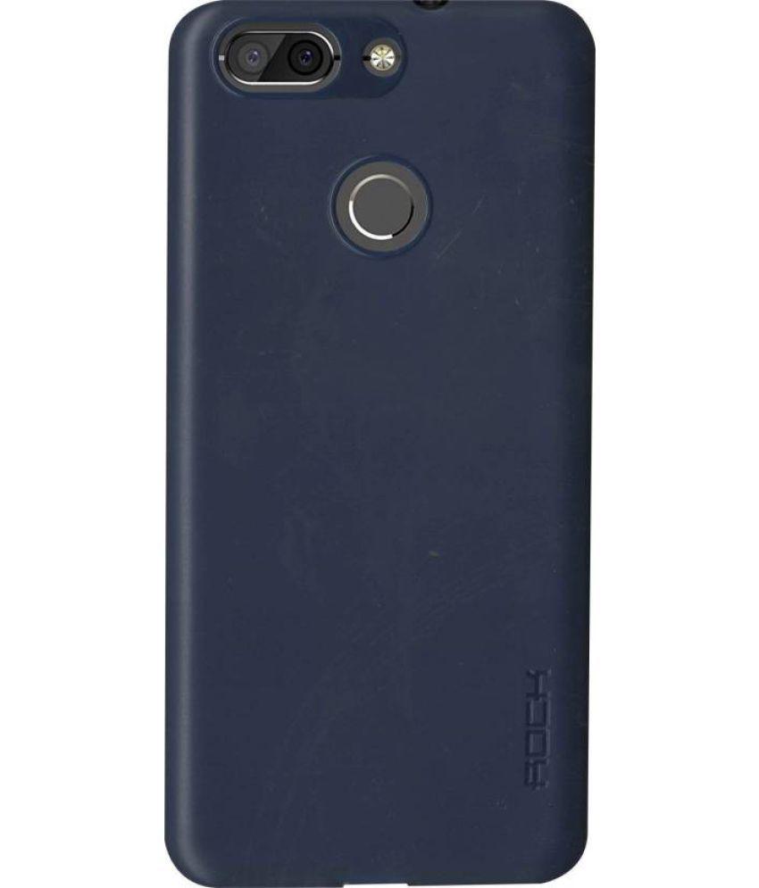 Oppo F9 Pro Soft Silicon Cases Mascot Max - Blue