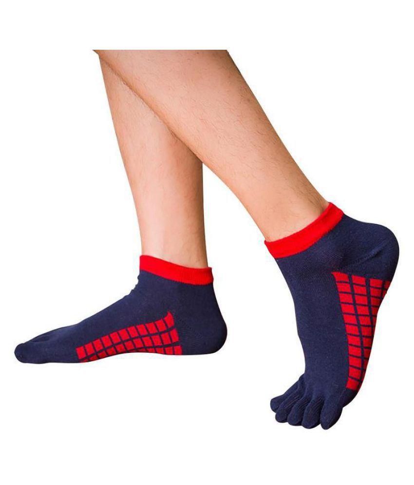 Sports Socks Men's Five-finger Socks Summer Thin Section Short-toe Socks