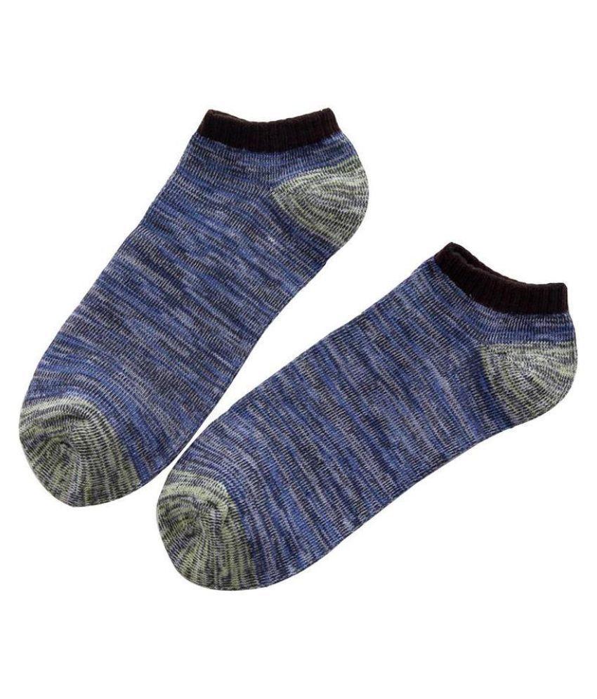 Spring Autumn Fashion Men Cotton Boat Socks