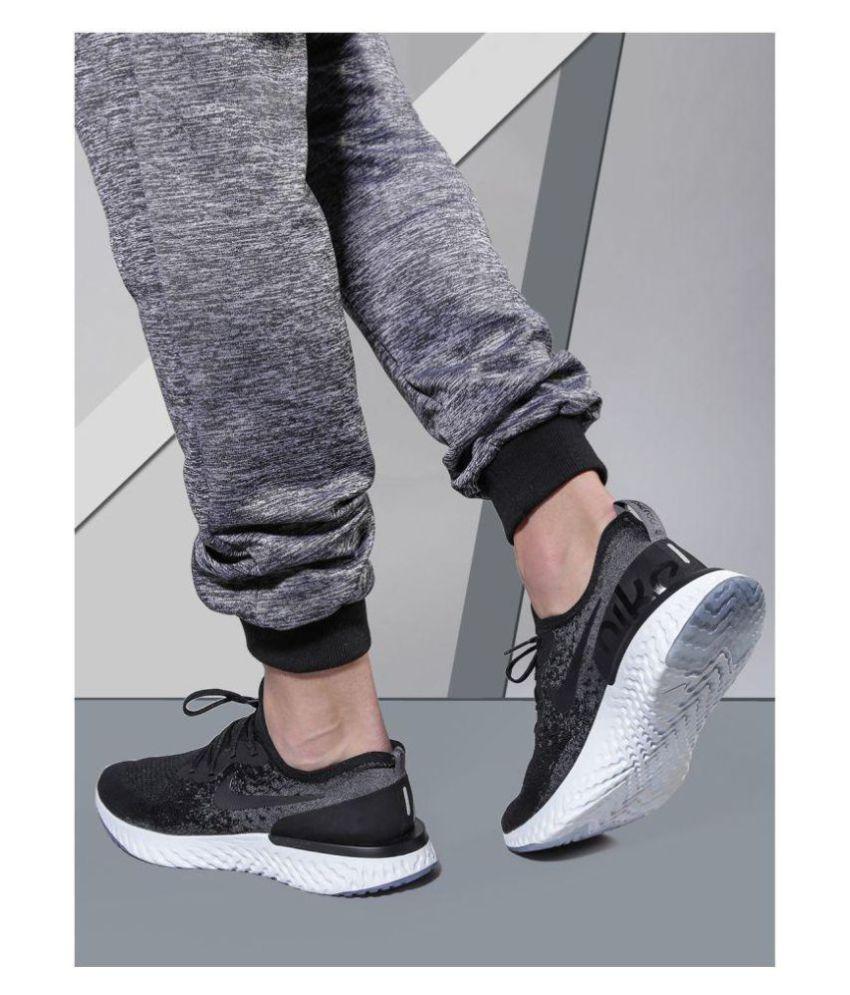 bb1f8bd73 Nike EPIC REACT FLYKNIT Black Running Shoes - Buy Nike EPIC REACT ...