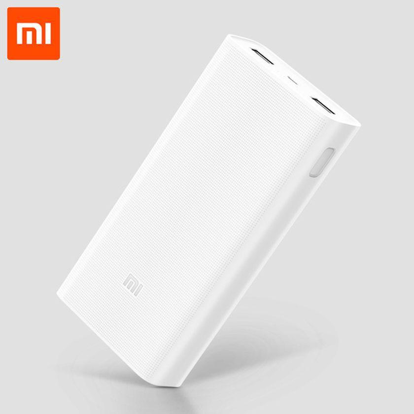 Mi 2i 20000 -mAh Li-Polymer Power Bank White