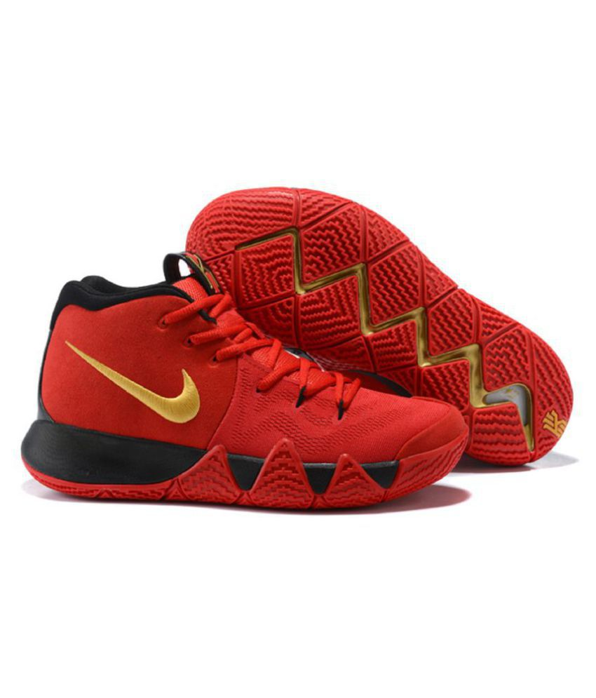 b0561e1b7df6 Nike Kyrie 4 Blood Red Basketball Shoes - Buy Nike Kyrie 4 Blood Red ...