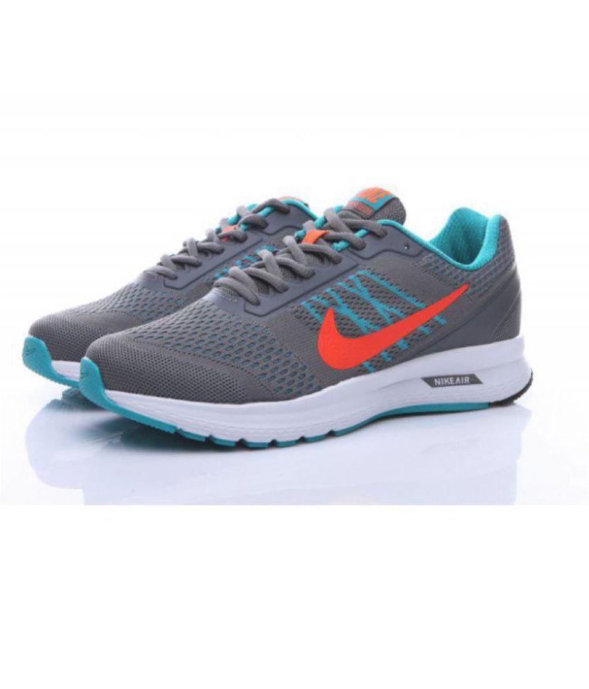 huge discount 5cb0c 5d961 Nike Nike Air Relentless 6 Msl Grey Running Shoes