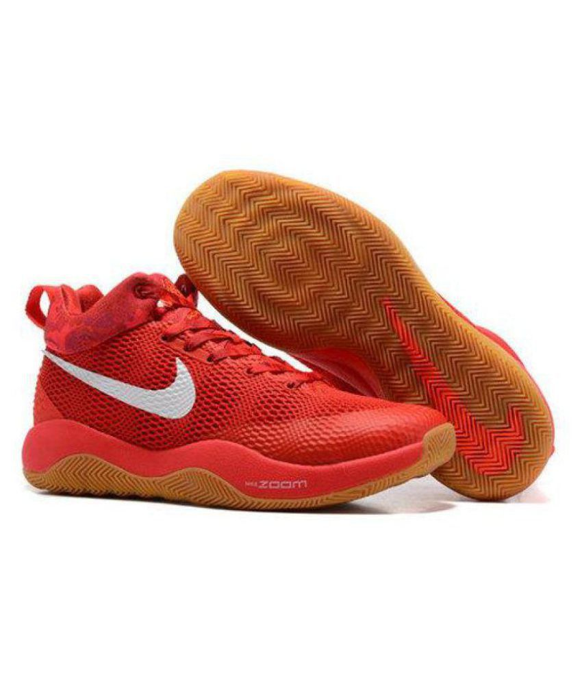 hot sale online bbb5f 2b9ba Nike ZOOM REV EP Limited Edd Red Basketball Shoes - Buy Nike ZOOM REV EP  Limited Edd Red Basketball Shoes Online at Best Prices in India on Snapdeal