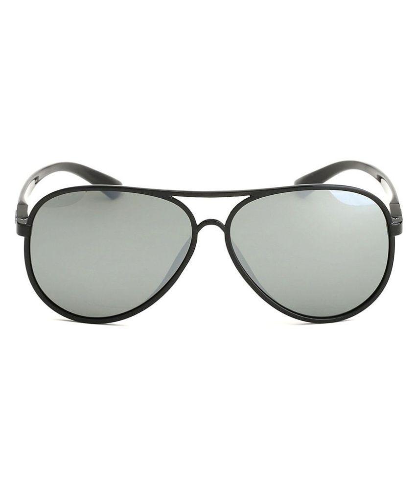 8ee59ee5e3 Parim Grey Aviator Sunglasses ( 1012 B4 ) - Buy Parim Grey Aviator ...
