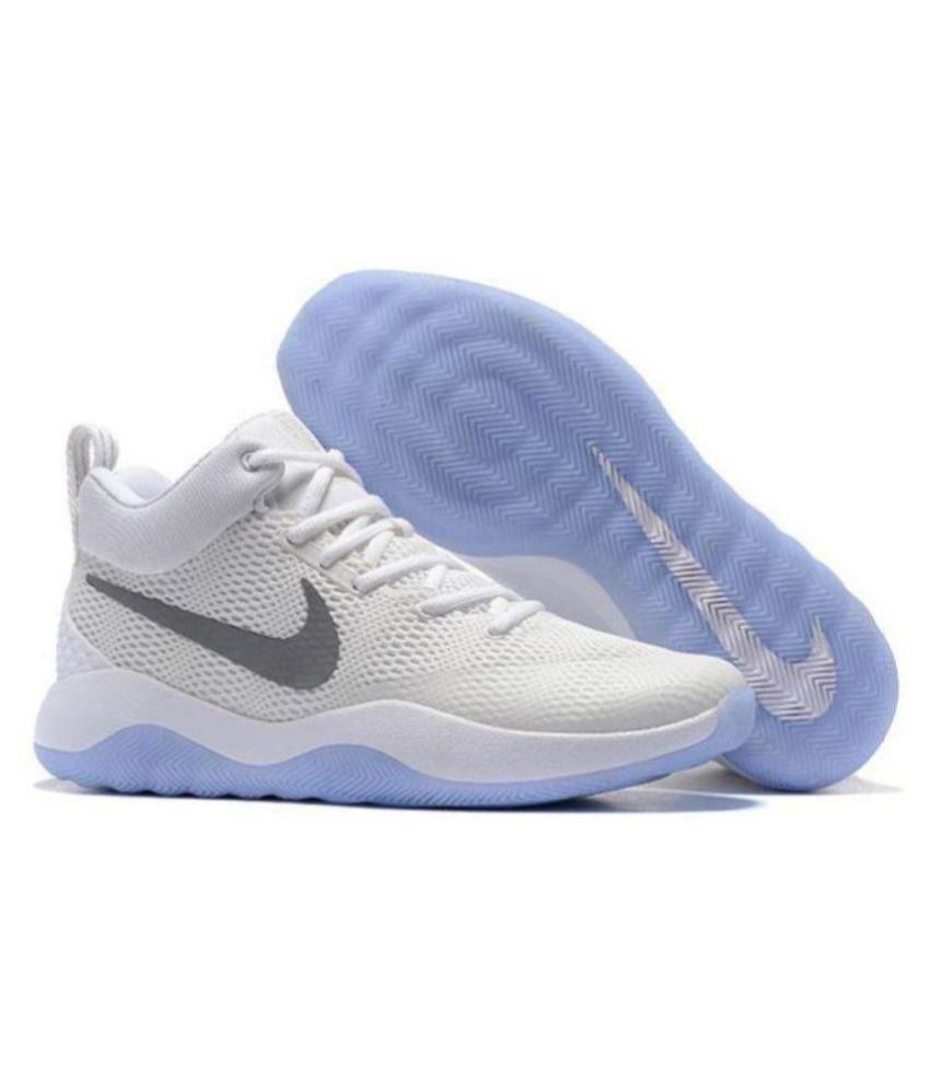 ab08d8911e80 Nike Nike ZOOM REV EP Limited Edd White Basketball Shoes - Buy Nike Nike  ZOOM REV EP Limited Edd White Basketball Shoes Online at Best Prices in  India on ...
