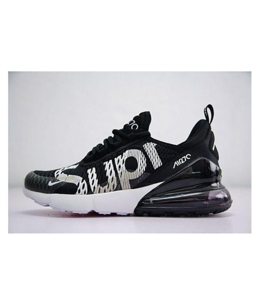 premium selection 00e47 8cd94 Nike Nike Air Max 270 Supreme Edition Black Running Shoes