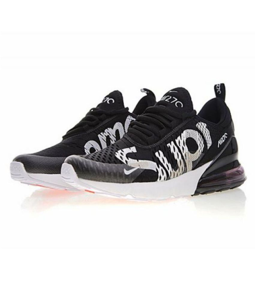 Nike Nike Air Max 270 Supreme Edition Black Running Shoes ... 1a46bcb9c