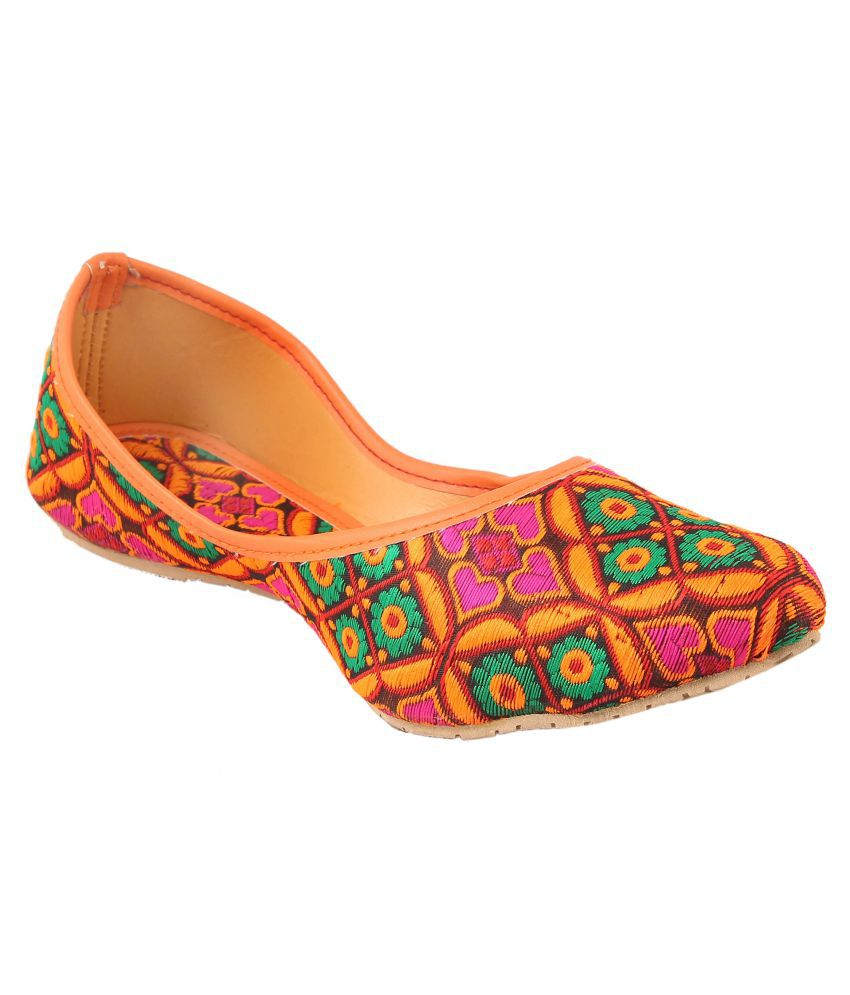 FEMMECRAFTS Multi Color Ethnic Footwear