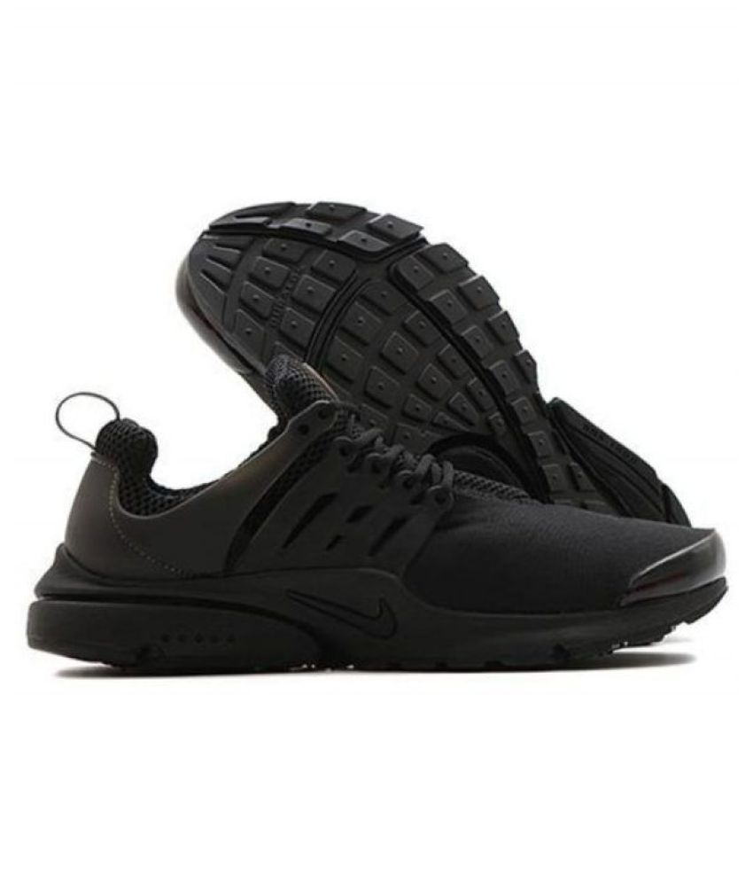 new concept 5d7ed d7899 Nike Presto Flyknit Black Running Shoes ...