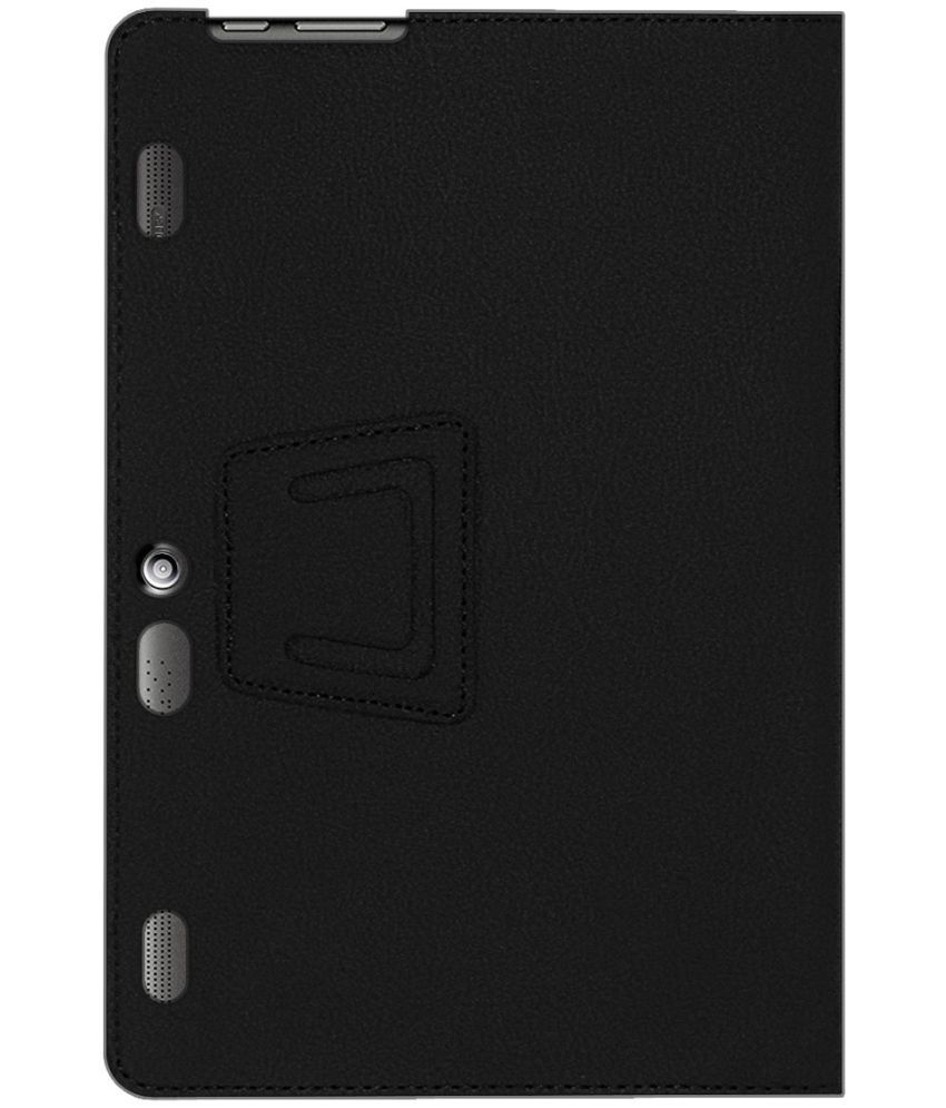 competitive price 322e4 65184 Lenovo Tab 3 10 Plus Flip Cover By ACM Black
