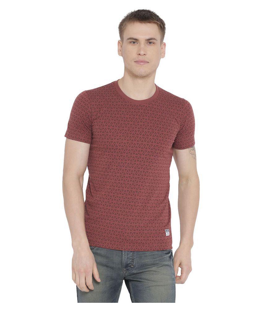 Duke Red Half Sleeve T-Shirt