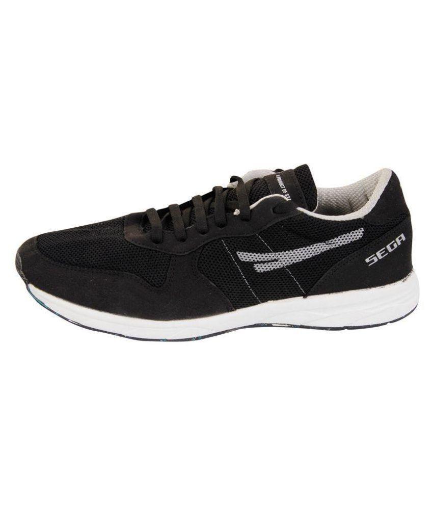 SEGA Black Training Shoes