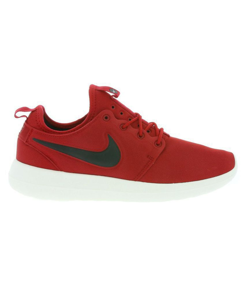 aa207efbfc9fe Nike Roshe Two Red Running Shoes - Buy Nike Roshe Two Red Running Shoes  Online at Best Prices in India on Snapdeal