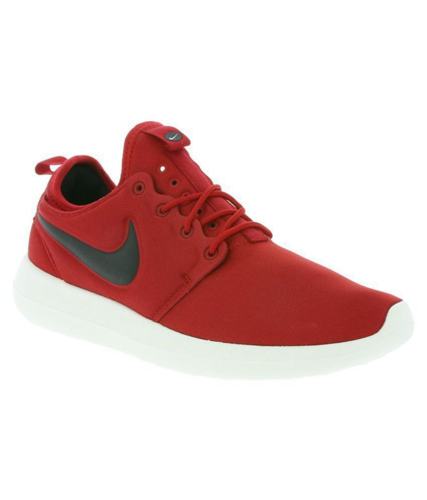 7a2f3948f59cf Nike Roshe Two Red Running Shoes - Buy Nike Roshe Two Red Running ...