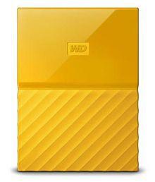 WD My Passport 2 TB External Hard Drive (Yellow)