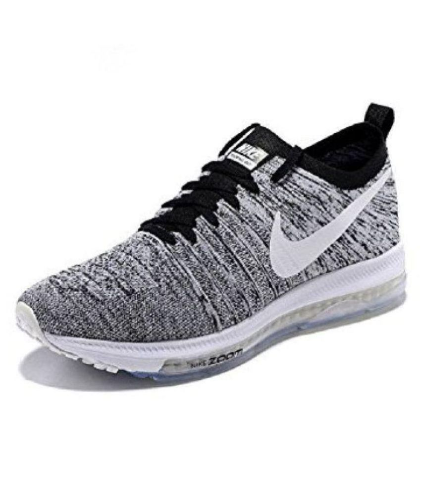 39f6d41b66eed Nike Zoom All Out Low Grey Running Shoes - Buy Nike Zoom All Out Low Grey  Running Shoes Online at Best Prices in India on Snapdeal