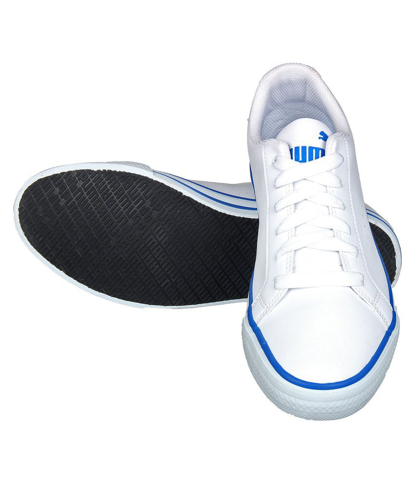 38ab6a95e5d4 Puma Rick Point NU IDP Sneakers White Casual Shoes - Buy Puma Rick ...
