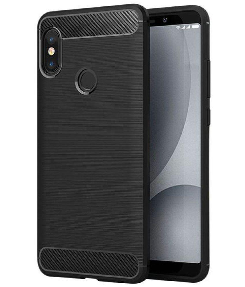 Xiaomi Redmi S2 Plain Cases CrackerDeal - Black