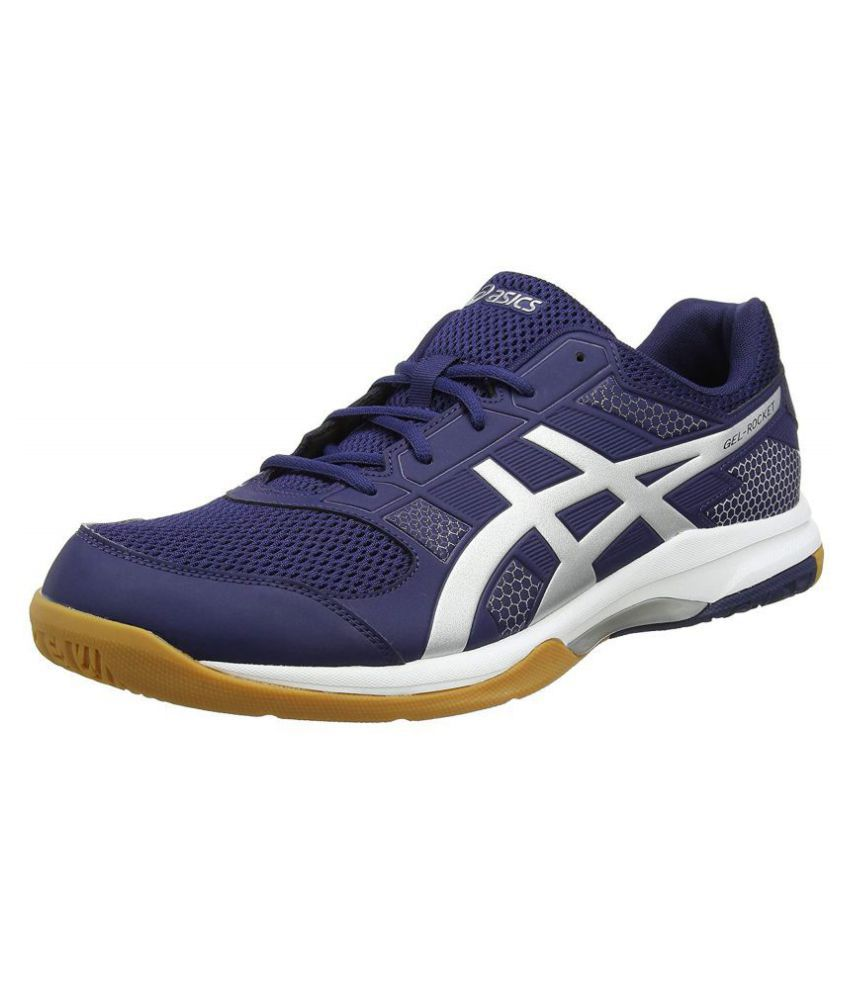 Asics Gel-Rocket 8 Navy Running Shoes - Buy Asics Gel-Rocket 8 Navy Running  Shoes Online at Best Prices in India on Snapdeal c60f25f2f50