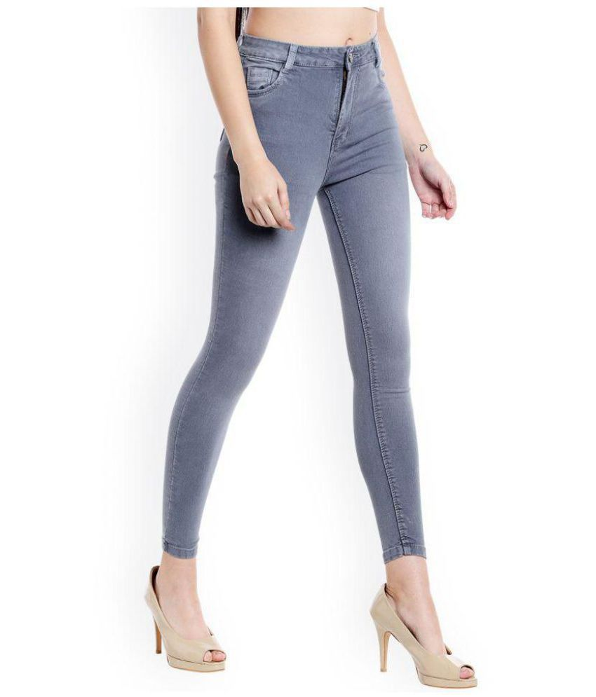 Ever Diva Denim Jeans - Grey