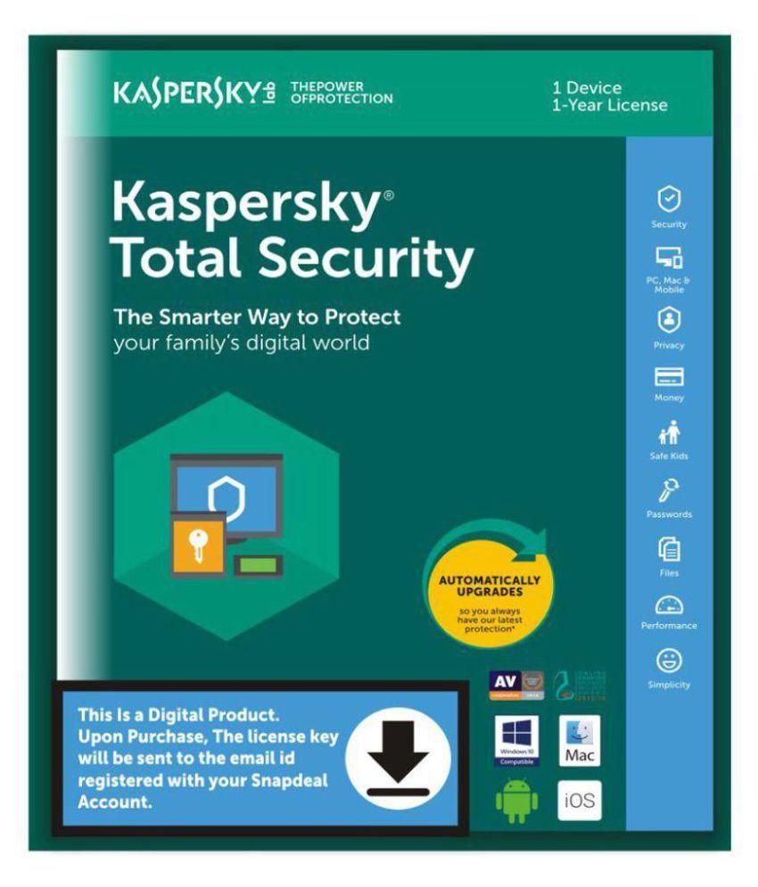 Kaspersky total security activation code free | Kaspersky