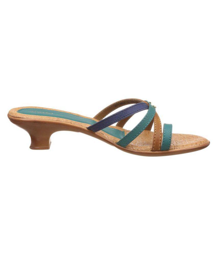 4e705ab48c7c Bata Blue Block Heels Price in India- Buy Bata Blue Block Heels Online at  Snapdeal