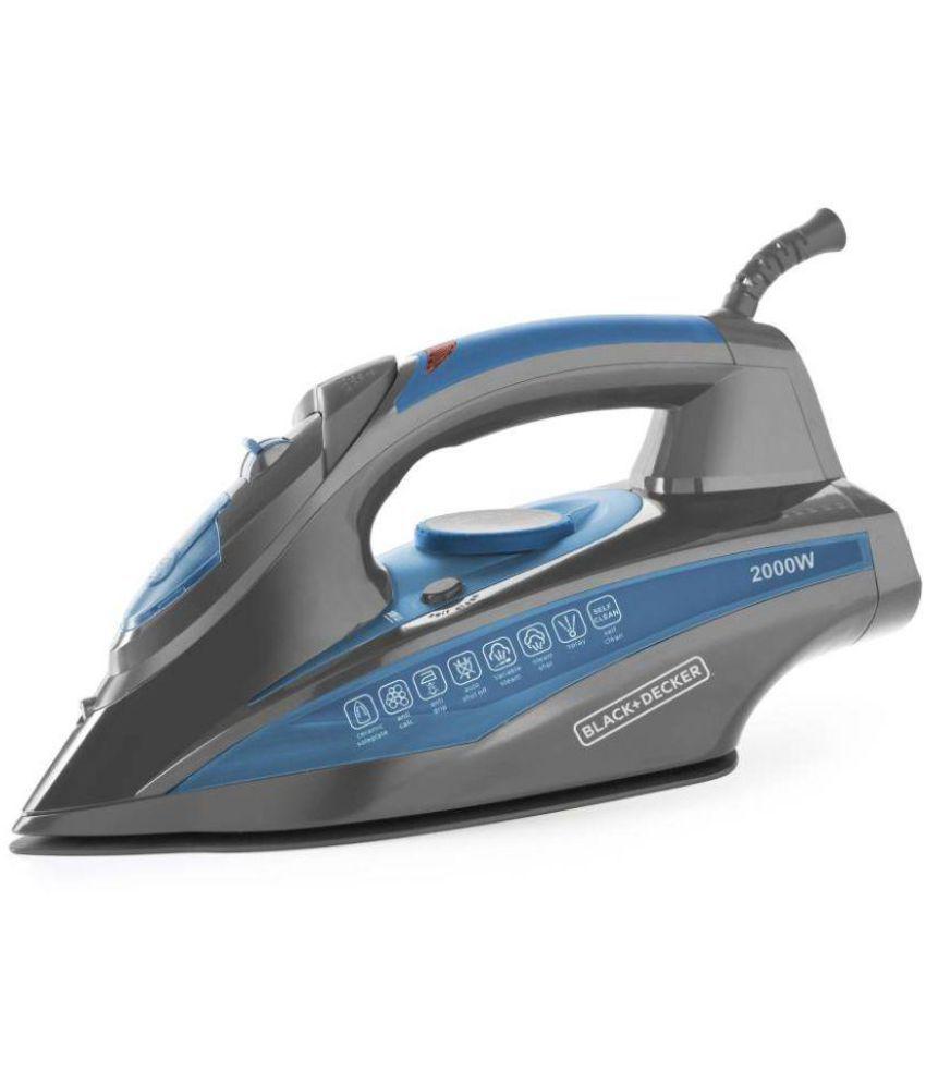 Black and Decker BXIR2001IN Steam Iron blue
