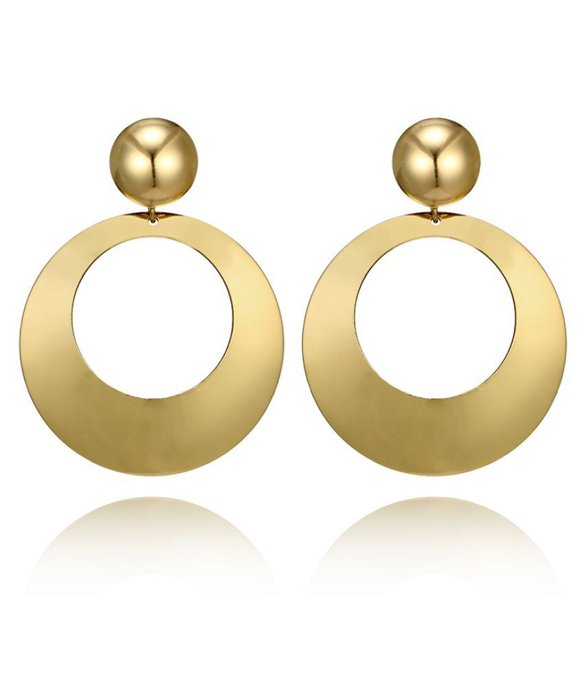 Levaso Fashion Earrings Ear Studs Alloy Jewelry Golden