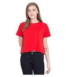 f83e0773e9b12 Red Tops for Women - Buy Red Women Tops Online at Low Prices in ...