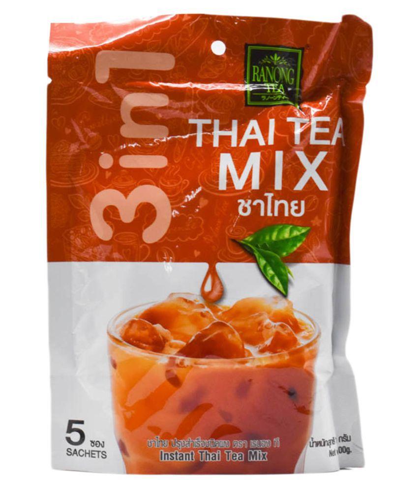 Ranong Earl Grey Tea Bags Instant Thai Mix 100 Gm