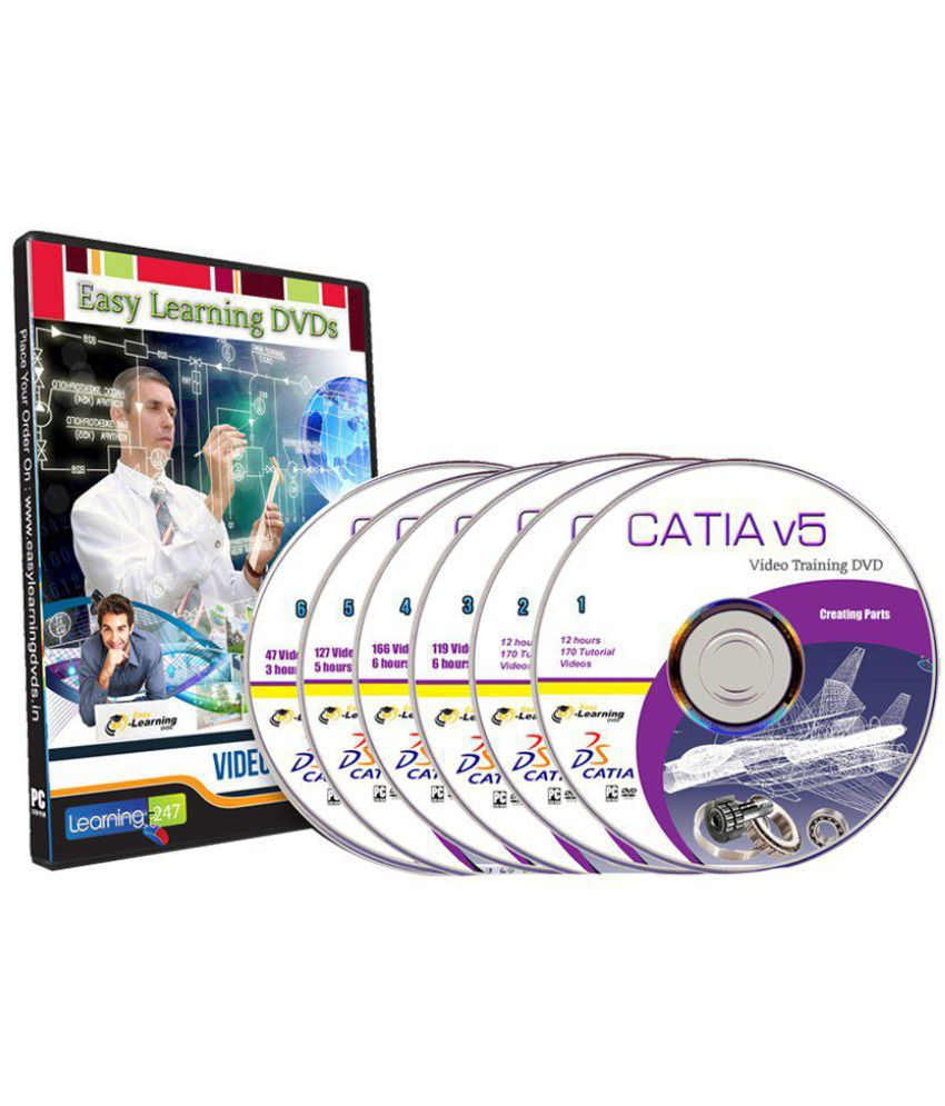 Master of Catia v5 Complete Video Training Course 6 DVDs DVD