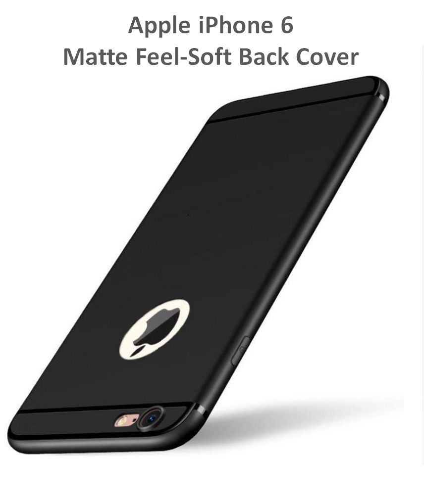 Apple iPhone 6 Soft Silicon Cases Wow Imagine   Black
