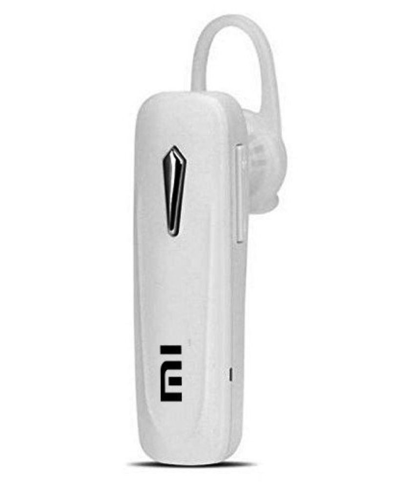 efeb404d62d shRee shop Mi Bluetooth Headset - White - Bluetooth Headsets Online at Low  Prices | Snapdeal India