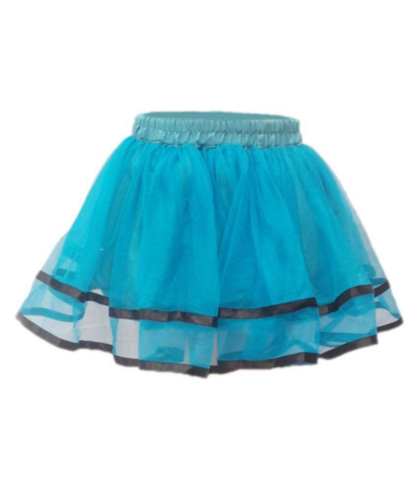KFD Tu Tu Skirt Firozy Color Fancy Dress For Kids,Western Costume for Annual function/Theme Party/Competition/Stage Shows/Birthday Party Dress