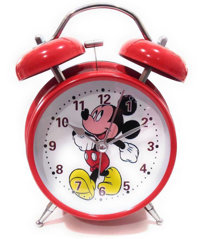 FunkyTradition Analog Funny Mickey Old Style Kids Room Alarm Clock - Pack  of 1