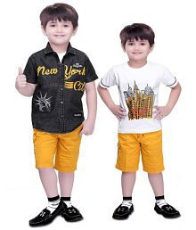 ed2f14545 Boys Clothing Sets  Buy Boy s Top   Bottom Sets