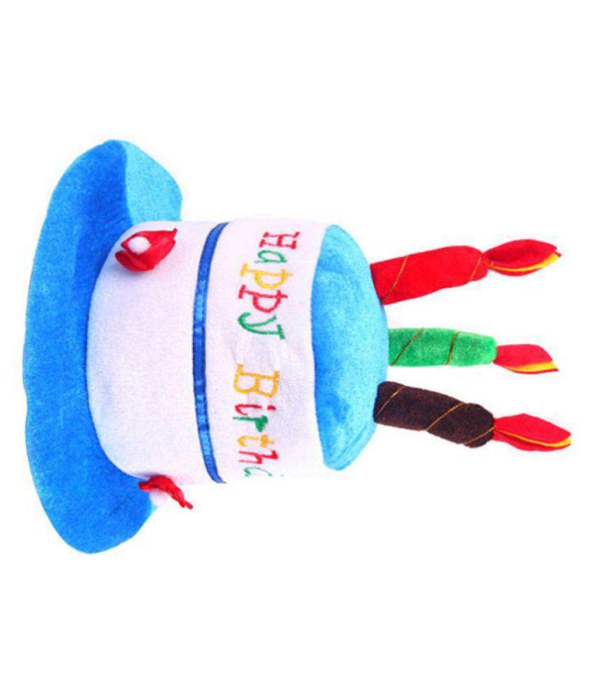Nema Plush Birthday Cake And Flower Party Kids Hat