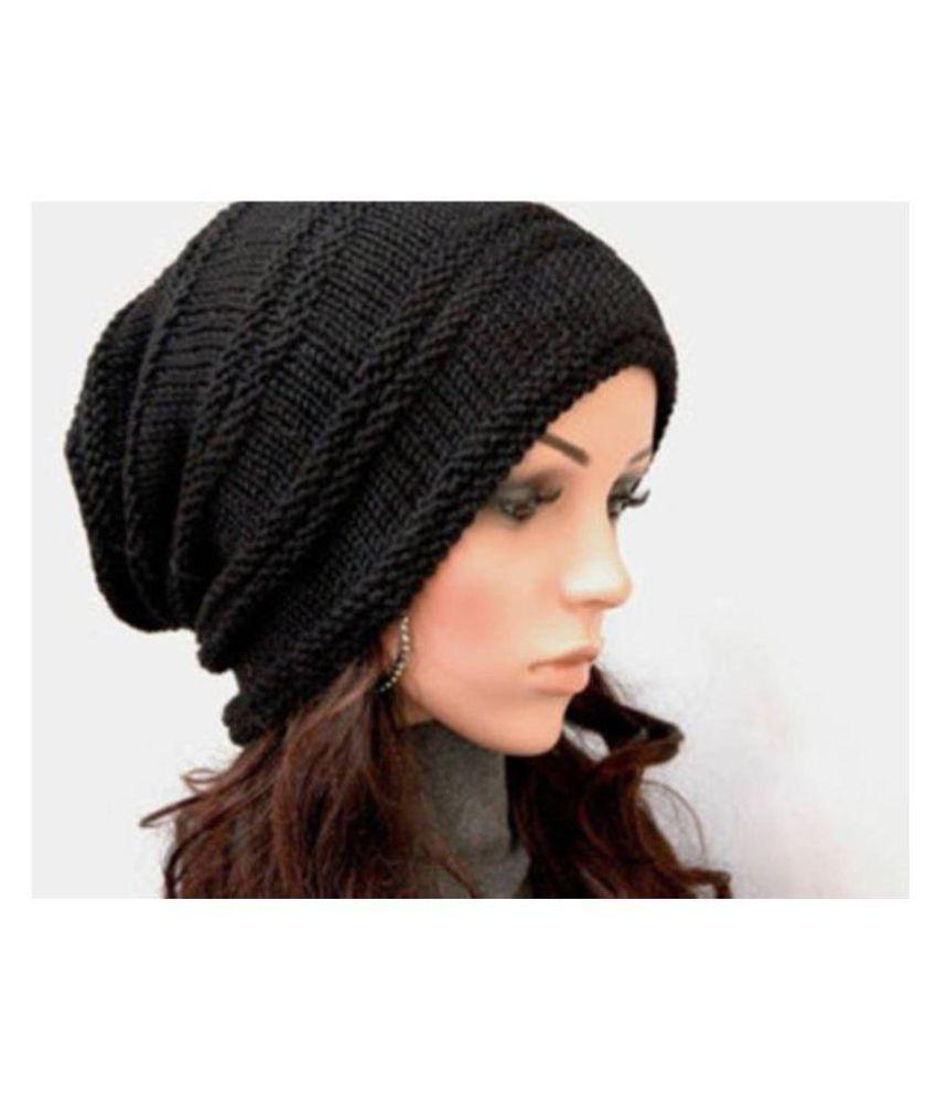 Fashionable Look Woolen Cap Aashiqui 2  Buy Online at Low Price in ... d26b7f875ec1