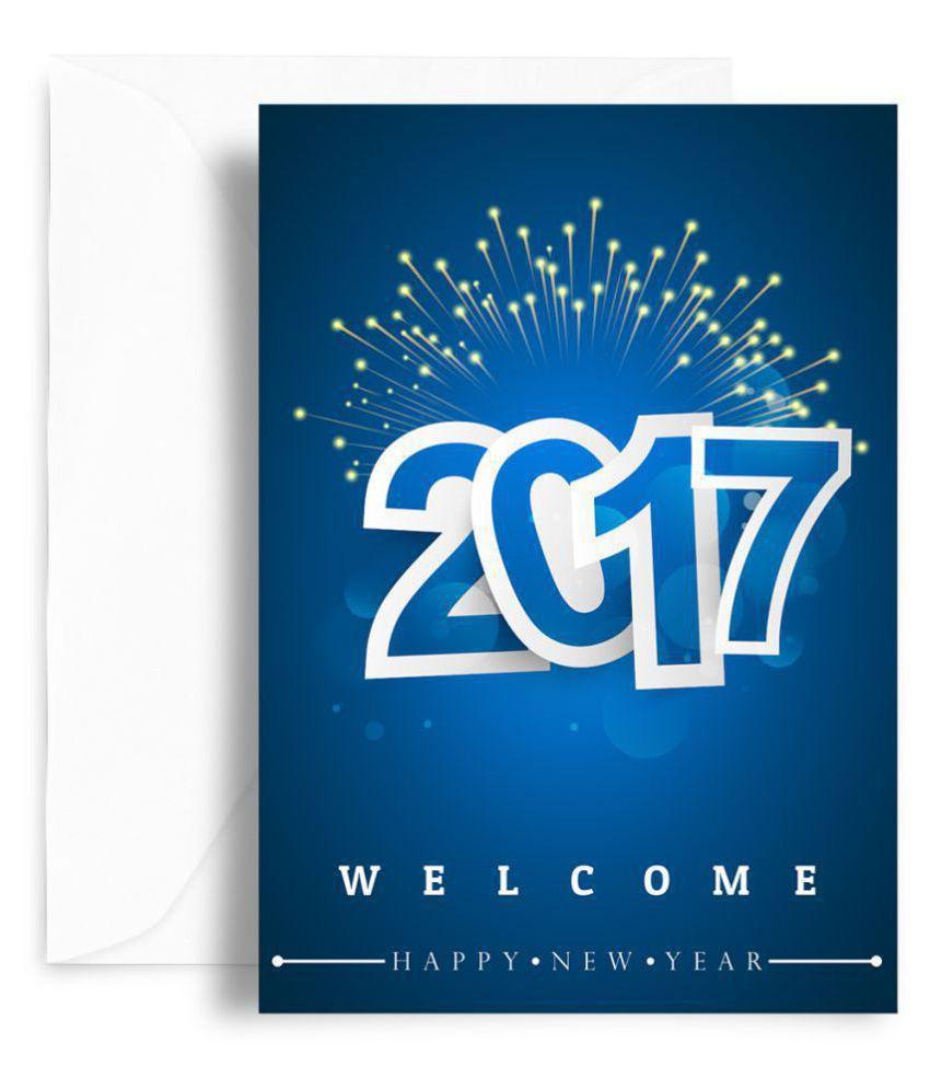 Kaarti Happy New Year Greeting Card Sk0594 Buy Online At Best