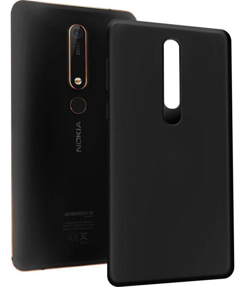 Nokia 6.1 Plain Cases MAXX3D - Black SHOCK PROOF