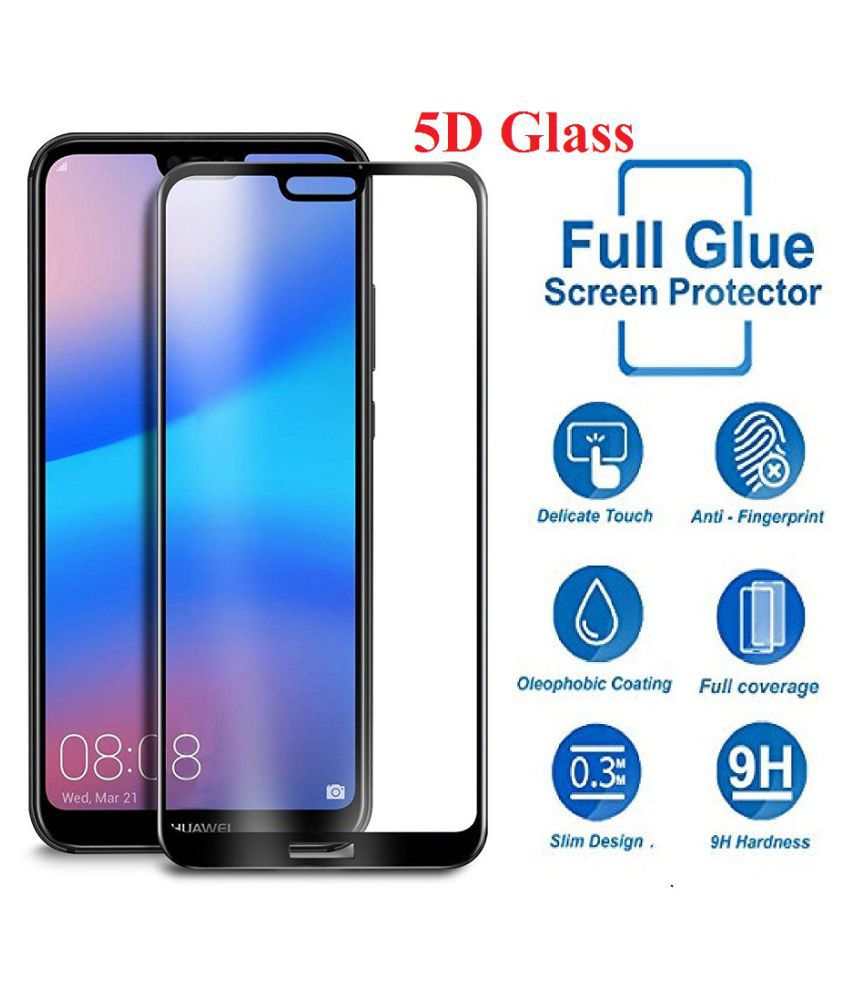 Oppo A83 Tempered Glass Screen Guard By Shanice 5D Tempered Glass
