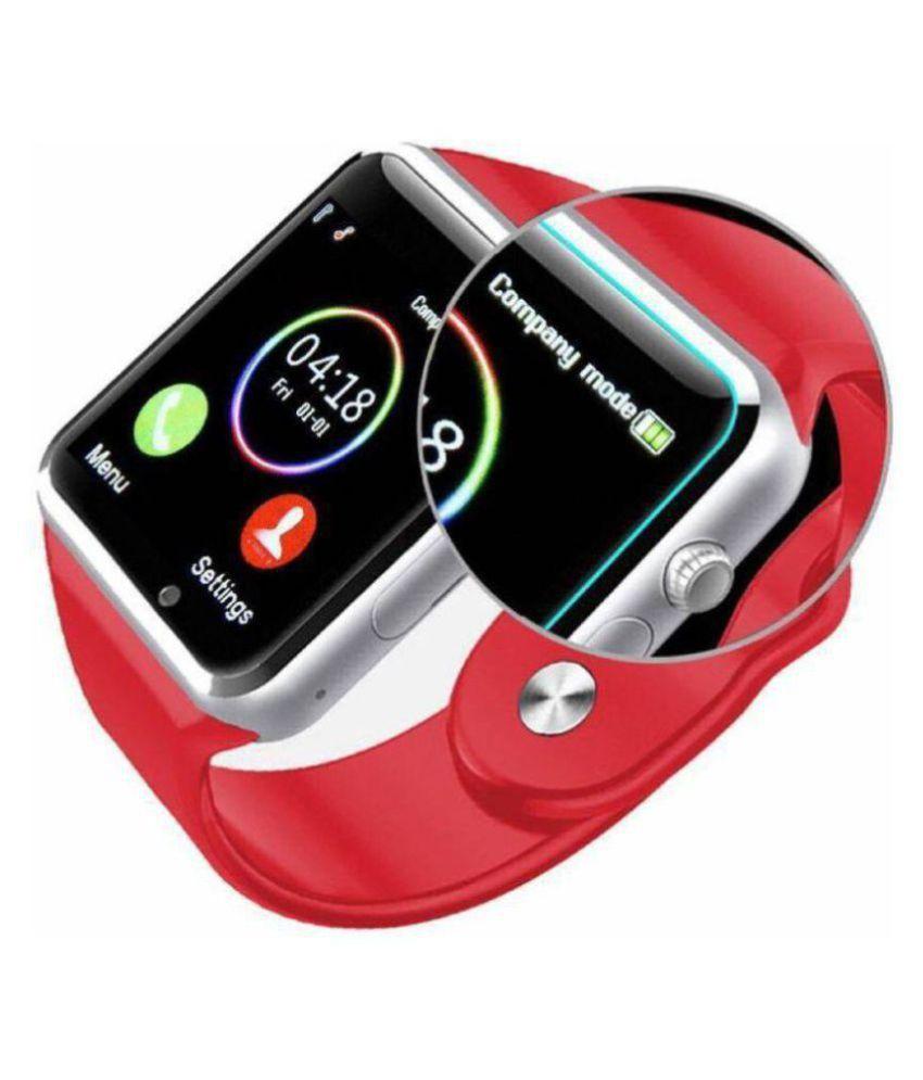 Dirar A1 Touch Screen Bluetooth Mobile Watch Smart Watches