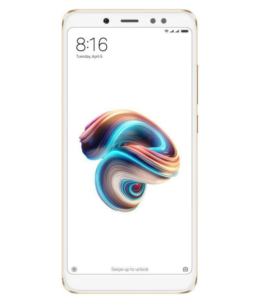 Redmi Note 5 Pro (64GB, 4GB RAM) - with 20MP Front Camera
