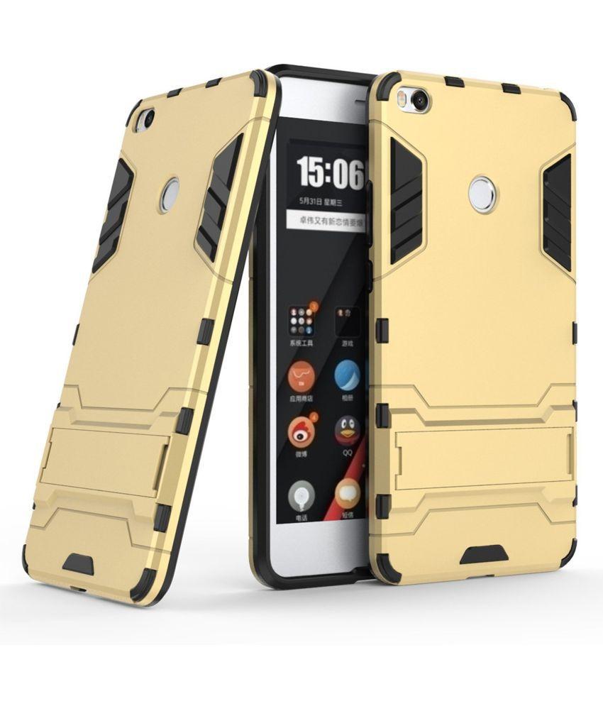 Mi Max 2 Plain Cases Dream2Cool - Golden
