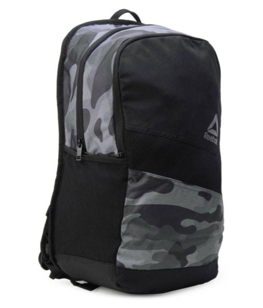 Reebok Grey ACT ENH GR BP 24L Backpack - Buy Reebok Grey ACT ENH GR ...