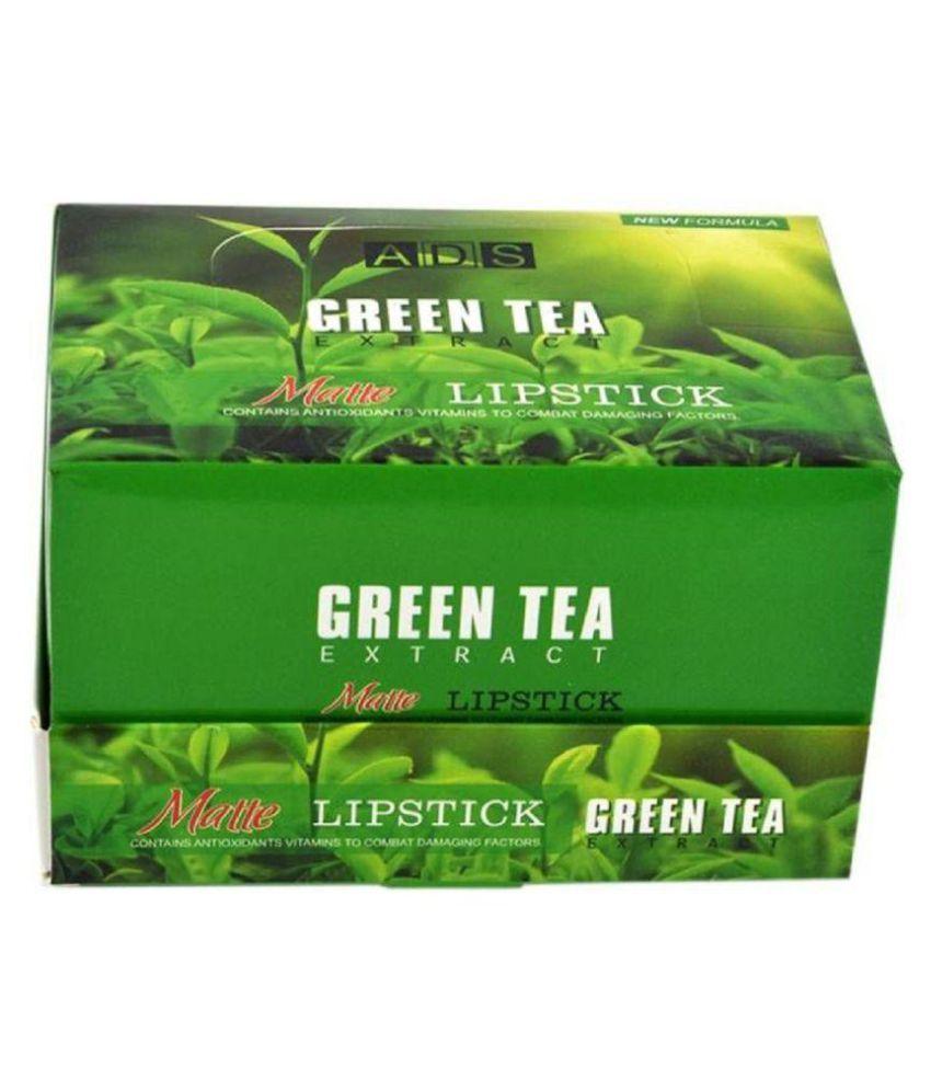 ADS Creme Lipstick Green Tea(Set of 24)